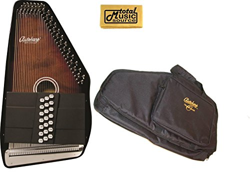 Oscar Schmidt 21 Chord/11 Key A/E Autoharp w/ Gig Bag, Select Maple, OS21CE by Oscar Schmidt
