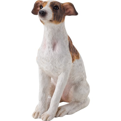 (Sandicast Small Size Greyhound Sculpture, Sitting)