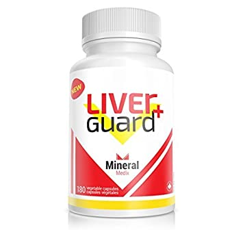 LiverGuard 180 Vegetable Capsules, Hepatoprotectant Liver Protectant