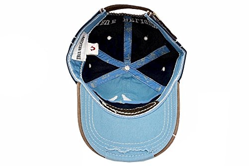 b1bd7198 True Religion New Big Buddha Distressed Army Trucker Hat Cap/Tr#1101 (Dark