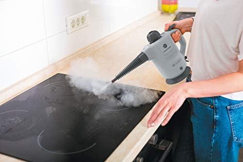 Hoover STEAMJET HANDY SGE1000, Handheld Steam Cleaner, Grey, 1000 W, 0.37 liters