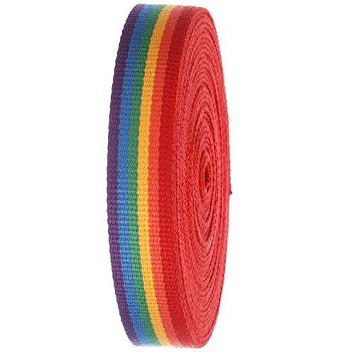 Webbing Yard - Striped Heavy Canvas Webbing Roll 1.25