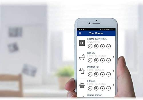 Louvolite One Touch Smart Controller Wifi Hub To Control Motorised Blinds Via Neo Smart Blinds App Or Voice Operation Via Compatible Smart Speaker Model C-R200