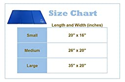 SimpleCool Cooling Dog Mat - Large