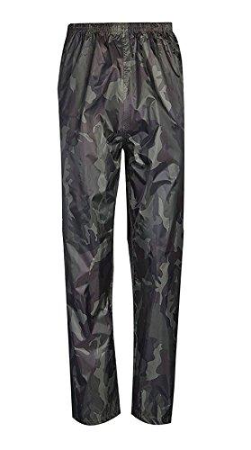 Pantalones de mujer talla Camuflaje 21fashion de Negro PBT0nwnqS