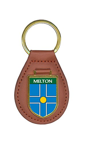 Melton Family Crest Coat of Arms Key Chains - Melton Coat Of Arms