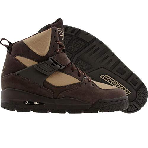 Jordan Nike Air Flight 45 TRK (GS) Boys Basketball Shoes 467929-204 Velvet Brown 5.5 M US ()
