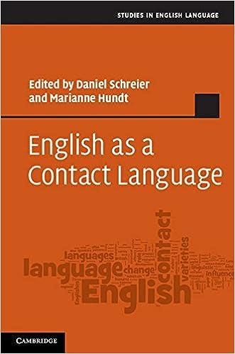 English as a Contact Language (Studies in English Language)