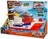 Matchbox Car-Go Mission Marine Rescue Commander Shark Ship Boat ~ BRAND NEW