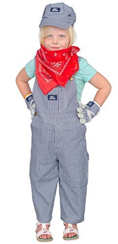 Train Engineer Halloween Costume (Train Conductor Engineer Child Deluxe Halloween Costume Set)