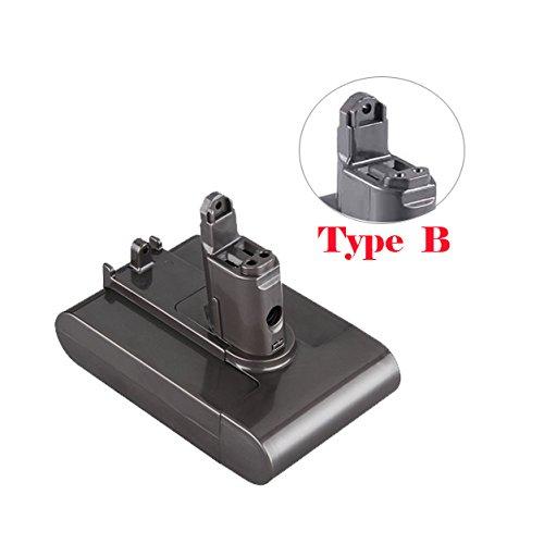 Price comparison product image DC34 Type B Li-ion Battery 22.2V 2.2Ah 2200mAh for Dyson DC31 DC35 DC44 DC45 Type B Series Dyson DC44 MK2 Cordless Vacuum Battery