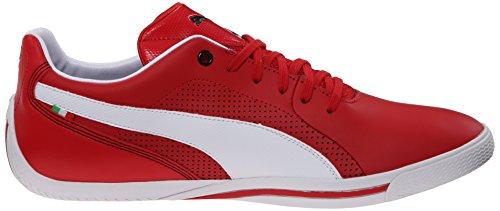 Zapatillas De Deporte Con Cordones Ferrari De Puma Selection Para Hombre Rosso Corsa / Blanco