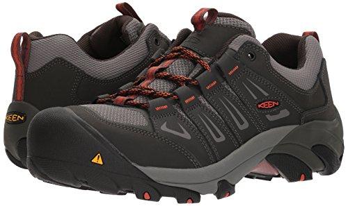 Pictures of KEEN Utility Men's Boulder Low Industrial Shoe 1018654 4