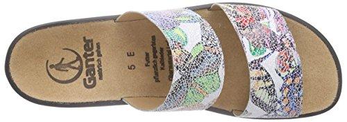Ganter Multi Multicolore Donna 9900 Weite Ciabatte E Sonnica Mehrfarbig rwcPSvqr1