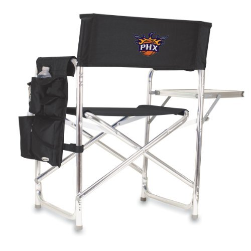 NBA Phoenix Suns Portable Folding Sports Chair, Black by Picnic Time by PICNIC TIME