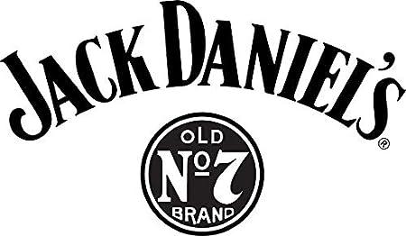 Jack Daniels Juego de Vasos de Whisky Tumbler. 2 Unidades - Vasos Originales. con señal para 2 Cl y 4 Cl