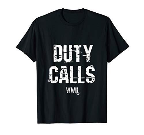 Duty Calls WWII T-Shirt