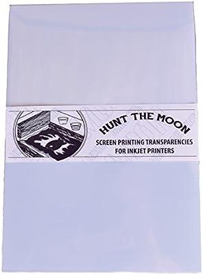 Hunt The Moon - Serigrafía para impresora de inyección de tinta ...