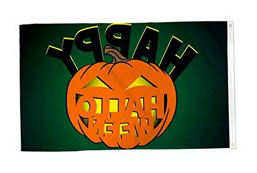 Kaputar Happy Halloween Flag 3x5ft Poly | Model FLG - 6943