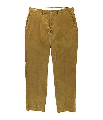 Polo Ralph Lauren Mens Corduroy Classic Fit Corduroy Pants Tan 34/34 (Corduroy Pants Tan)