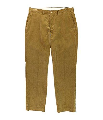 Polo Ralph Lauren Mens Corduroy Classic Fit Corduroy Pants Tan 34/34 (Tan Pants Corduroy)