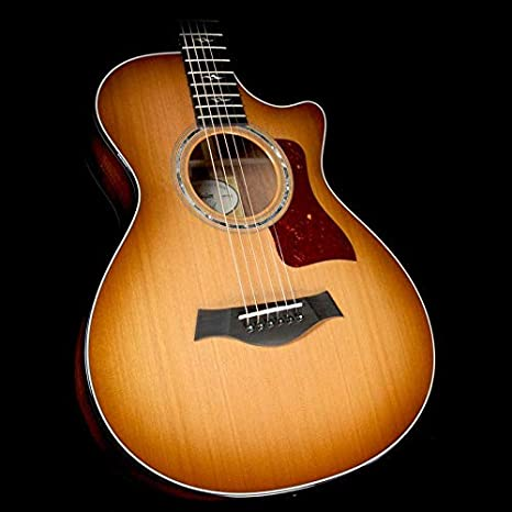 Taylor caída 2017 Ltd 712 ce Koa y cedro 12-Fret Grand Shaded ...
