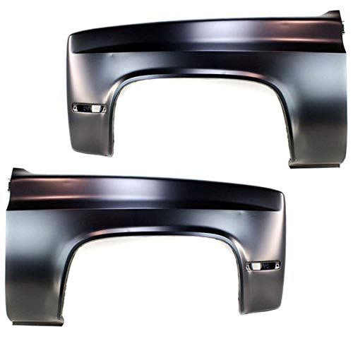 81-91 Chevy C/K Truck Front Fender Quarter Panel Left Right Side SET PAIR