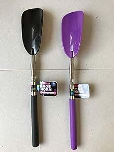 Extensible primavera Cargado Flexible calzador duradera calzador Handheld., Assorted Colour