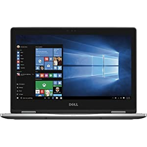 """DELL Flagship Inspiron 2-in-1 13.3"""" Touch-Screen Laptop - Intel Core i7 -7500U - 8GB Memory - 256GB Solid State Drive - Gray"""