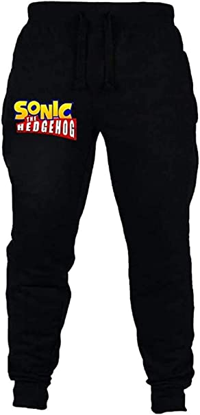 Sonic The Hedgehog Boys Graphic Hoodie Top and Jogger Pants 3-Piece Outfit Set