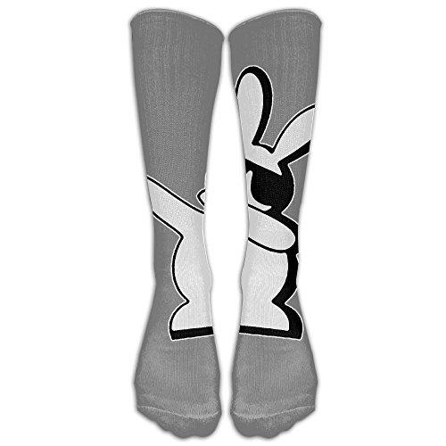 Dabbing Sunglasses Bunny Sport Socks Long Socks Stockings Colorful Funny Print Socks For Men - Sunglasses People Famous