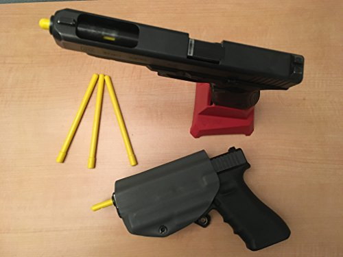 Barrel Safety Chamber Plug/Flag Five Pack (9mm)