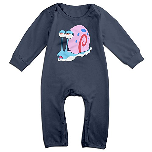 [VanillaBubble Tired Snail For 6-24 Months Toddler Custom Baby Climbing Clothes Navy Size 12 Months] (Young Elvis Presley Costumes)