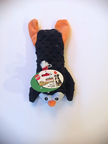 13 Inch Dog Holiday Christmas Skinneeez Extreme Santa Hat Penguin With Squeaker By (Skinneeez Rope)