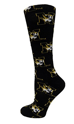 (Donegal Bay NCAA Missouri Tigers Dress Socks, One Size, Gold)