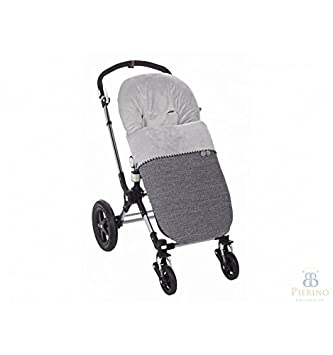 Saco para silla de carro de paseo Paz Rodriguez universal MAKALU color tierra. Con respaldo ancho compatible con Bogaboo, Bebecar, etc.: Amazon.es: Bebé