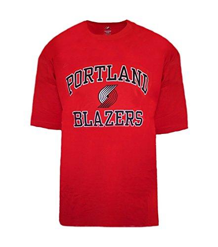 Majestic Men's Big & Tall NBA Heart and Soul T-Shirt (3XT, Portland Trail Blazers)