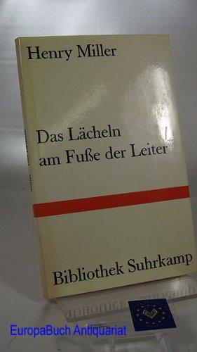 Das Lächeln am Fuße der Leiter - Bibliothek Suhrkamp Band 198