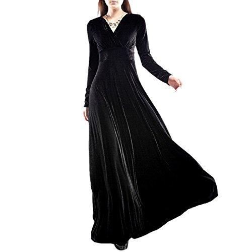 long black asian dress - 7