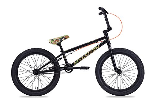 Eastern Bikes BMX Bike - Lowdown Black & Camo, 20