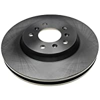 Rotor de freno de disco delantero sin revestimiento ACDelco 18A2322A Advantage
