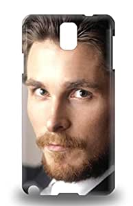 Premium Christian Bale The United Kingdom Male Christian Charles Philip Bale The Flowers Of War Heavy Duty Protection 3D PC Case For Galaxy Note 3 ( Custom Picture iPhone 6, iPhone 6 PLUS, iPhone 5, iPhone 5S, iPhone 5C, iPhone 4, iPhone 4S,Galaxy S6,Galaxy S5,Galaxy S4,Galaxy S3,Note 3,iPad Mini-Mini 2,iPad Air )
