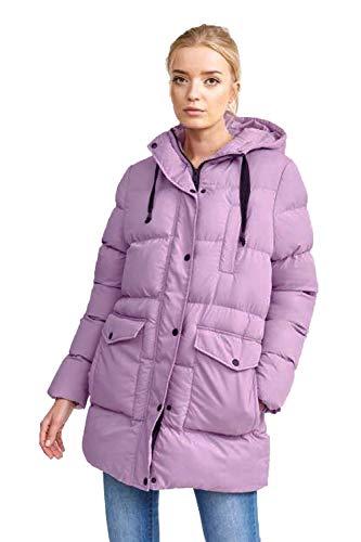 Brave Soul - Abrigo - Chaqueta Guateada - para Mujer Lilac - Purple