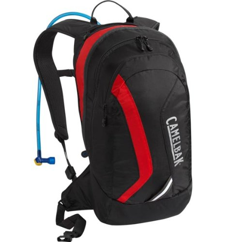 Camelbak Blowfish Hydration Pack (70-Ounce/1037/732 Cubic-Inch, Black/Racing Red), Outdoor Stuffs