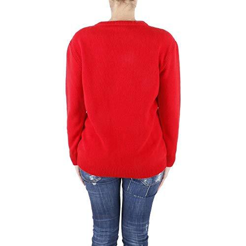 E Lana Ferretti Alberta Red Vergine J0946 Cashmere In maglia tdqHXq