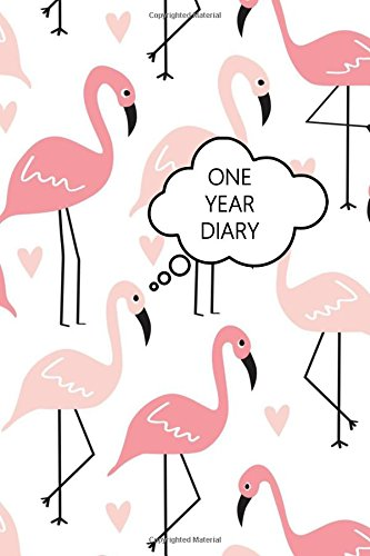One Year Diary: Pink Flamingo One Page Per Day Planner Calendar pdf