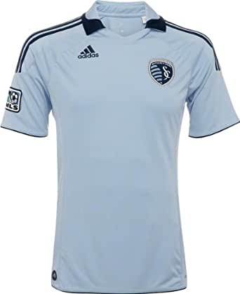 Sporting Kansas City Youth adidas Soccer Replica Home Jersey