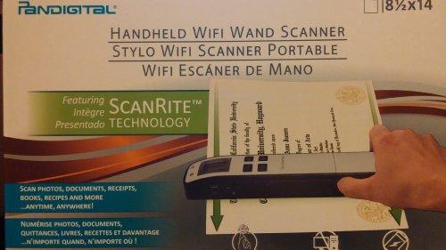 Pandigital Wifi Wand Scanner by PanDigital
