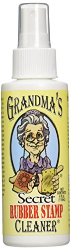 Stamp Stazon Cleaner Ink Solvent - GRANDMA'S Secret 4-Fluid Ounces, Rubber Stamp Cleaner