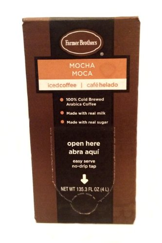 Farmer Brothers Iced Coffee (Ready to Drink) - 4 Liters (Mocha)